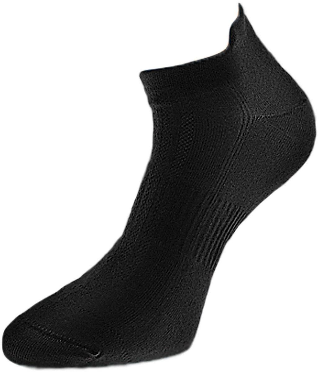 Носки мужские Гранд, цвет: черный, 2 пары. ZCL109. Размер 25/27ZCL109Мужские укороченные носки Гранд выполнены из хлопка, для занятий спортом. Основа материала - высококачественный хлопок. Носки хорошо держат форму и обладают повышенной воздухопроницаемостью, не линяют после многочисленных стирок, имеют укороченную высоту паголенка и усиленные пятку и мысок для повышенной износостойкости. Резинка вокруг стопы обеспечивает дополнительную фиксацию. Функция отвода влаги позволяет сохранить ноги сухими. Носки произведены по европейским стандартам на современных итальянских вязальных автоматах Busi Giovanni.
