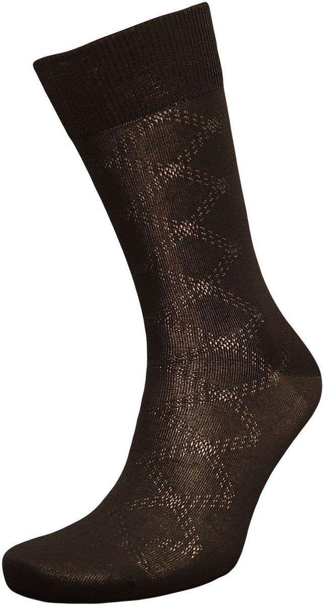 Носки мужские Гранд, цвет: черный, 2 пары. ZCmr101. Размер 27ZCmr101Мужские носки Гранд изготовлены из высококачественного хлопка с добавлением полиамидных и эластановых волокон, они обладают повышенной воздухопроницаемостью, не садятся и не деформируются. Изделие выполнено с помощью бесшовной технологии и дополнено рисунком. Мягкая анатомическая резинка идеально облегает ногу. Мысок и пятка усилены. В комплект входят две пары носков.
