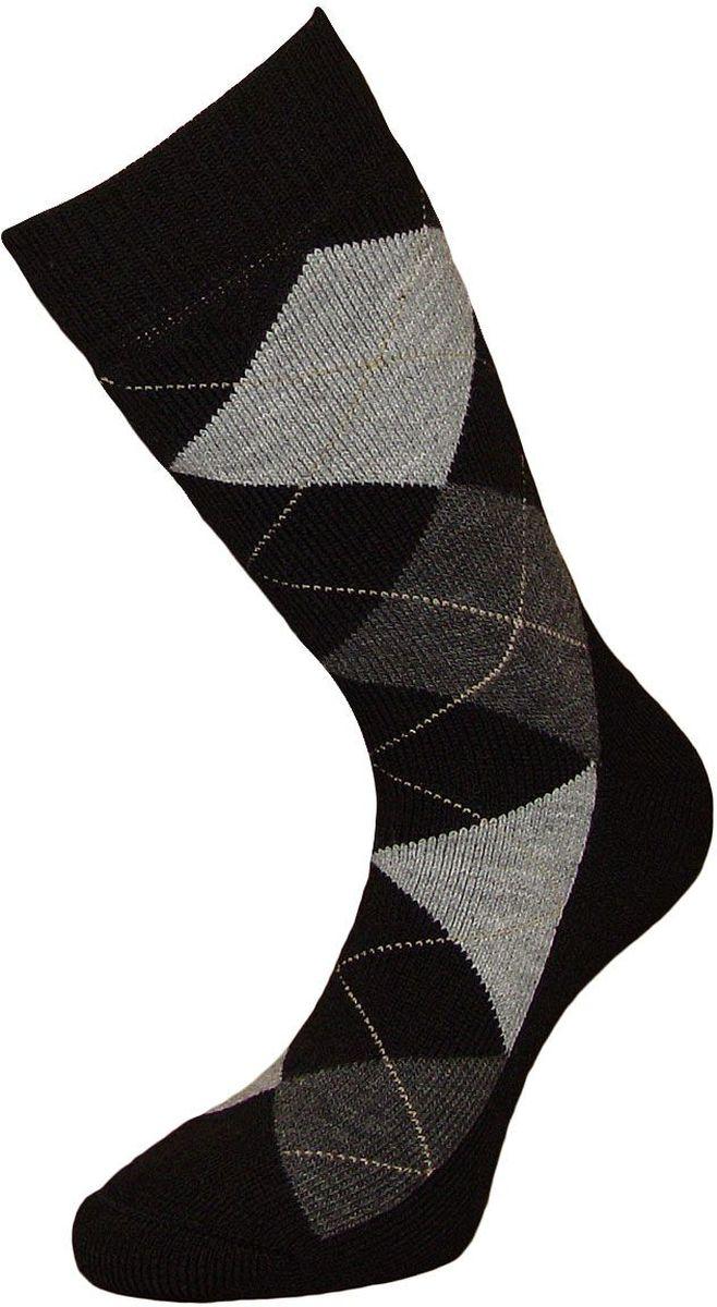 Носки мужские Гранд, цвет: черный, 2 пары. ZWL48. Размер 25/27ZWL48Классические мужские носки из шерсти:- сделаны из натурального волокна с уникальной терморегуляцией - бесшовная технология (кеттельный, плоский шов)- устойчивы к сминанию- обеспечивают хороший воздухообмен и антибактериальную защиту- имеют оптимальную высоту паголенка - мягкая анатомическая резинка - усилены пятка и мысокНоски произведены по европейским стандартам на современный вязальных автоматах.