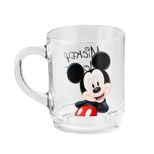 Кружка Luminarc Mickey Colors, 250 млG9176Кружка Luminarc Mickey Colors изготовлена из стекла. Такая кружка прекрасно подойдет для горячих и холодных напитков. Она дополнит коллекцию вашей кухонной посуды и будет служить долгие годы. Объем кружки: 250 мл.