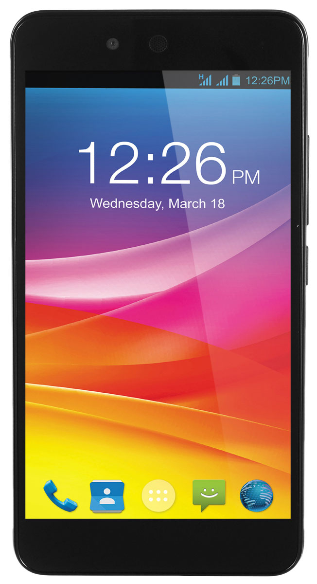 Micromax Canvas Juice 2 Q392, Cosmic grey micromax q338 дисплей купить