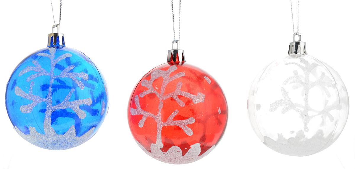 Украшение новогоднее подвесное Winter Wings Зимний лес, диаметр 7 см, 3 штN069964Новогоднее подвесное украшение Winter Wings Зимний лес прекрасно подойдет для праздничного декора новогодней ели. Изделия выполнены из высококачественного пластика. Для удобного размещения на елке на украшениях предусмотрены ушки и веревочки.Елочная игрушка - символ Нового года. Она несет в себе волшебство и красоту праздника. Создайте в своем доме атмосферу веселья и радости, украшая новогоднюю елку нарядными игрушками, которые будут из года в год накапливать теплоту воспоминаний. Откройте для себя удивительный мир сказок и грез. Почувствуйте волшебные минуты ожидания праздника, создайте новогоднее настроение вашим дорогим и близким.