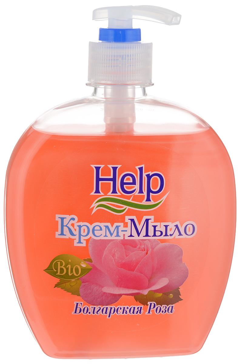 Жидкое мыло Help Болгарская роза, с дозатором, 500 г4605845001449Мыло Help Болгарская роза мягко очищает, увлажняет, придает мягкость коже рук. Специальные компоненты дополнительно питают кожу рук во время мытья. Мыло обладает гипоаллергенной парфюмерной композицией с ярким ароматом и пышной пеной.Товар сертифицирован.