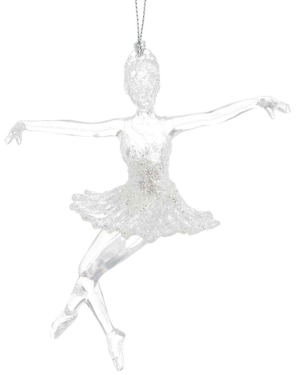 Украшение новогоднее подвесное Magic Time Танцовщица, высота 13,5 см38588Новогоднее украшение Magic Time Танцовщица отлично подойдет для декорации вашего дома и новогодней ели. Изделие выполнено из прочного пластика в виде балерины и украшено блестками. Елочная игрушка - символ Нового года. Она несет в себе волшебство и красоту праздника. Создайте в своем доме атмосферу веселья и радости, украшая всей семьей новогоднюю елку нарядными игрушками, которые будут из года в год накапливать теплоту воспоминаний.