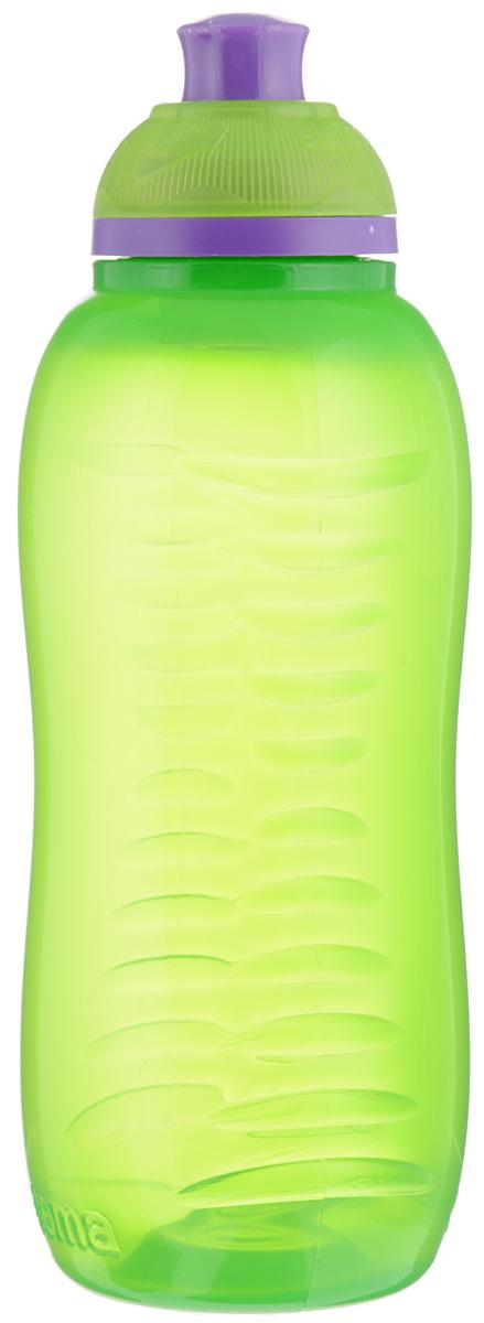 Бутылка для воды Sistema Twist n Sip, цвет: зеленый, фиолетовый, 330 мл780NW_зеленыйБутылка для воды Sistema Twist n Sip изготовлена из прочного пищевого пластика без содержания фенола и других вредных примесей. Рельефная поверхность бутылки со специальными выемками для удобного хвата. Бутылка имеет удобную запатентованную систему крышки Twist n Sip, которая предотвращает выливание жидкости и в то же время позволяет удобно пить напитки. С такой бутылкой Вы сможете где угодно насладиться Вашими любимыми напитками. Высота бутылки: 16 см.