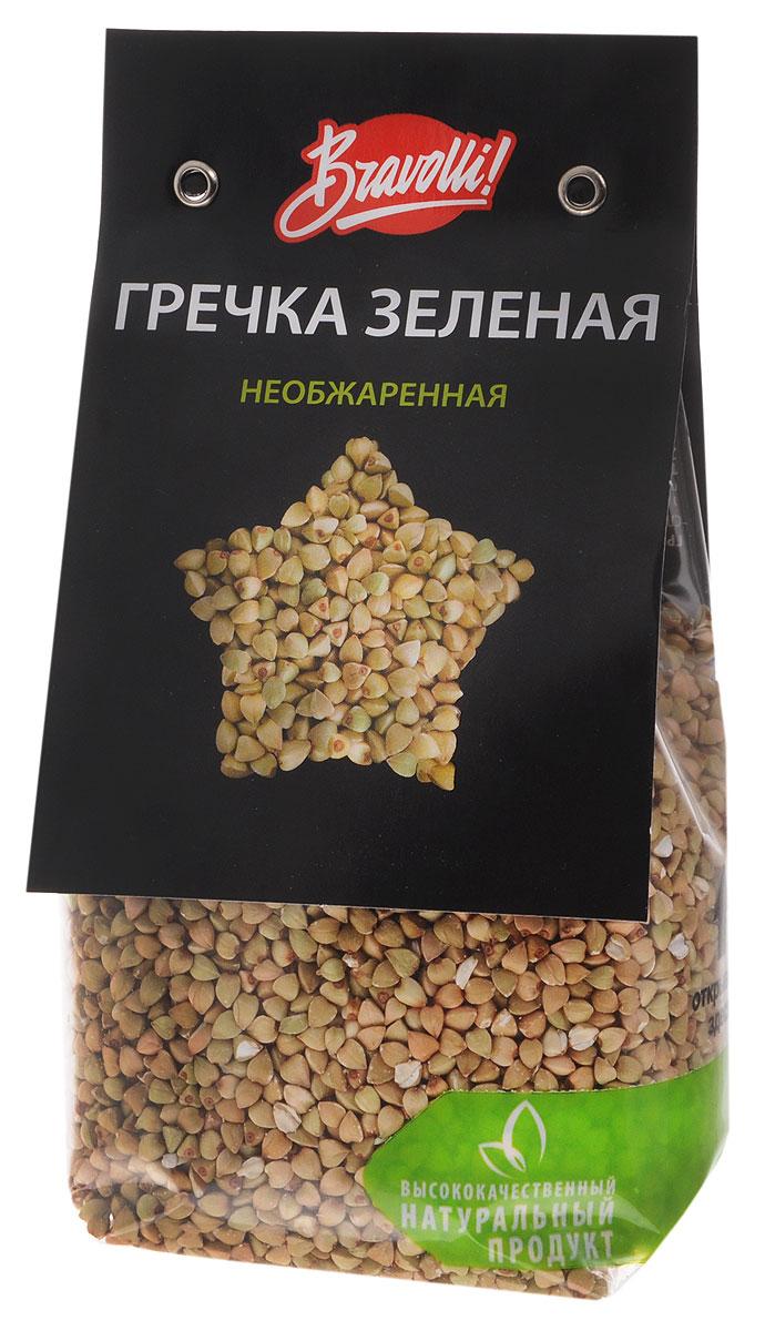 Bravolli Гречка зеленая необжаренная, 350 г bravolli жасмин рис 500 г