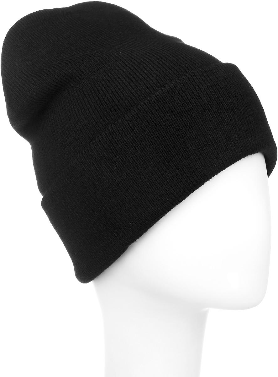 Шапка Ignite, цвет: черный. 016 CUFF. Размер 54/56016 CUFFТеплая шапка Ignite выполнена из высококачественного акрила. Шапка с отворотом оформлена в лаконичном однотонном стиле и дополнена оригинальными нашивками с логотипом бренда. Уважаемые клиенты!Размер, доступный для заказа, является обхватом головы.