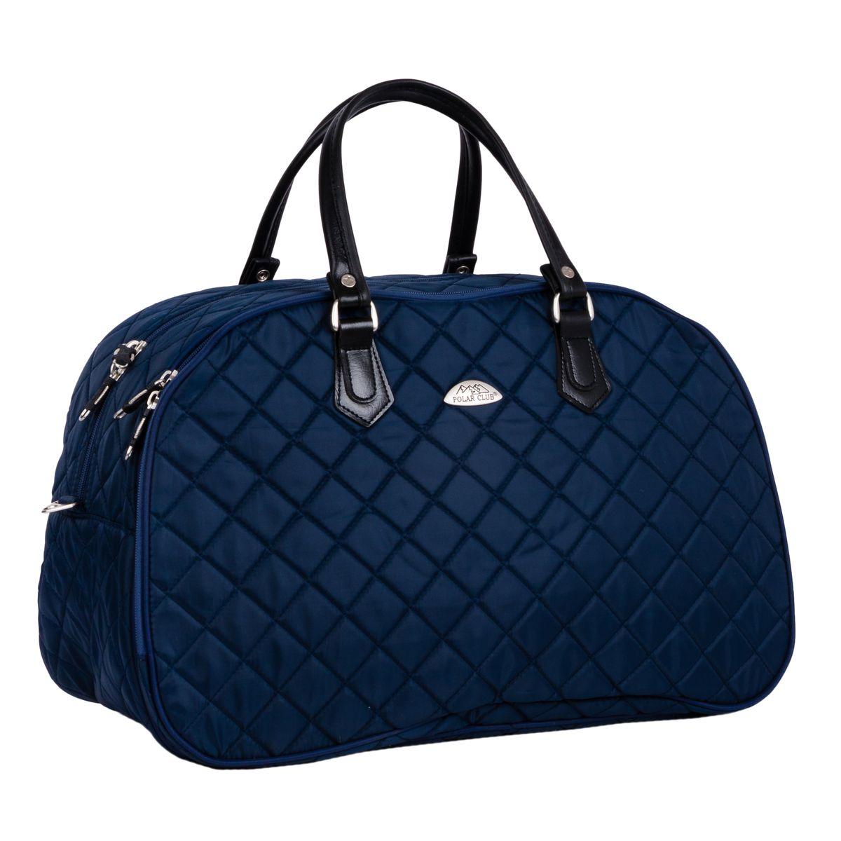 Сумка дорожная Polar, цвет: синий, 46,5 л. 7049.2 рюкзак polar polar po001buawne5