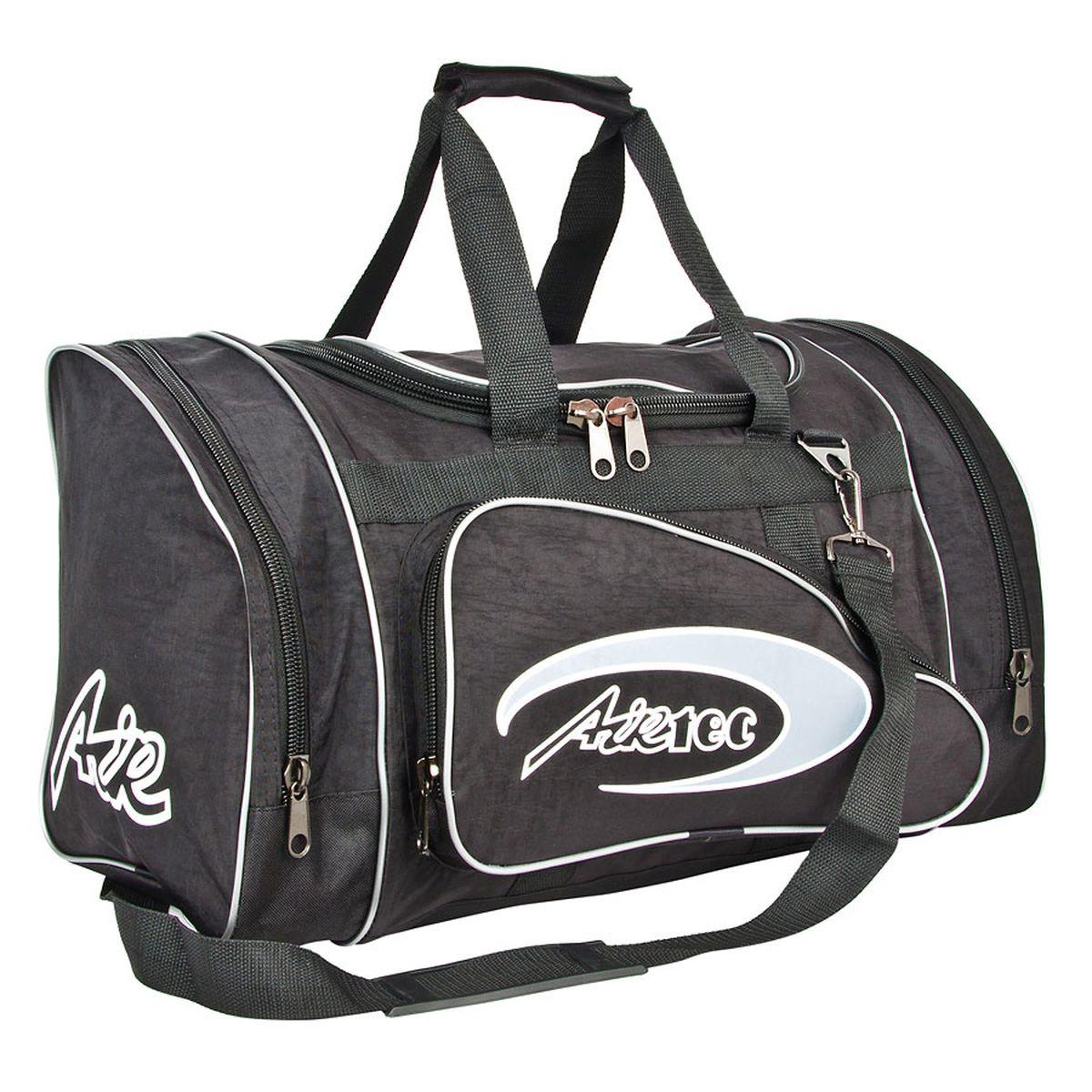 Сумка спортивная Polar, цвет: черный, 36 л. п03 сумка спортивная мужская adidas cvrt 3s duf m цвет черный 37 л cg1533