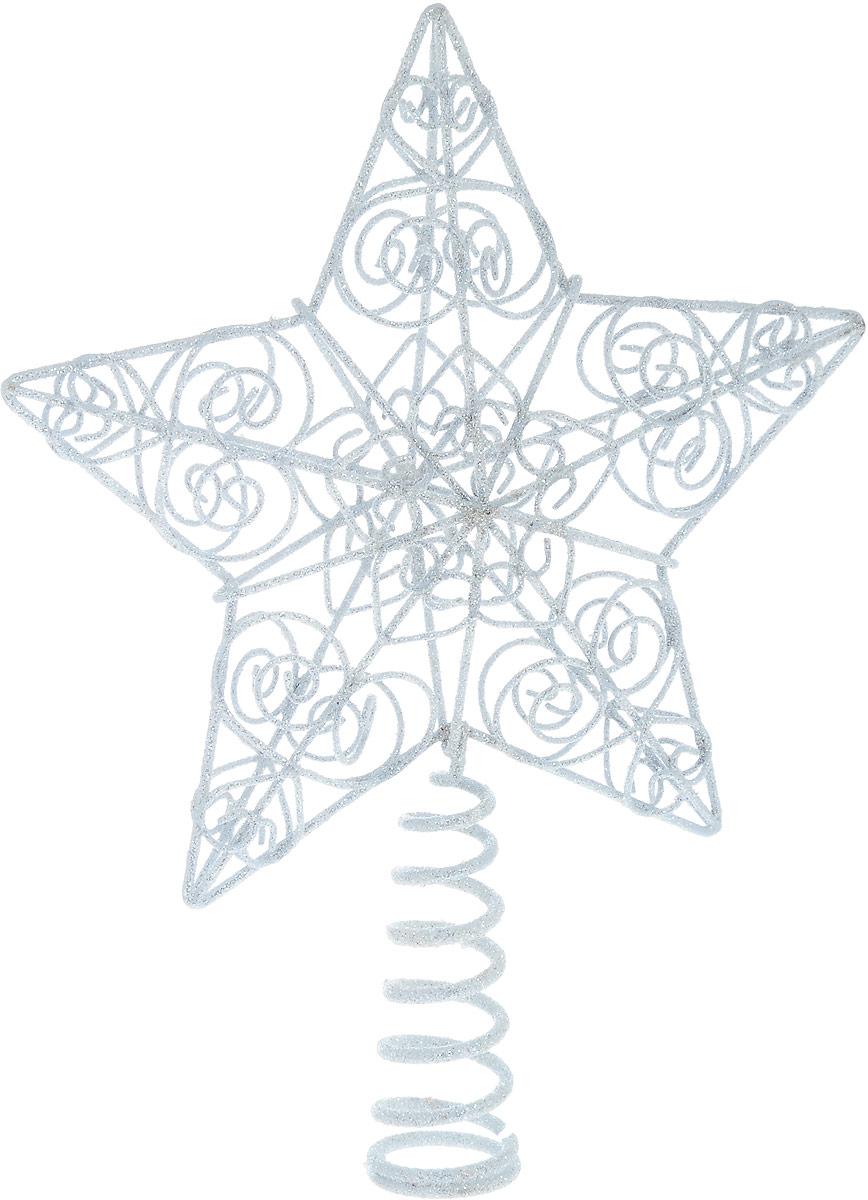 Верхушка на елку Winter Wings Звезда, цвет: белый, высота 25 смN180472Верхушка Winter Wings Звезда, выполненная из металла, прекрасно подойдет для декора новогодней елки. Украшенное блестками изделие создаст особое настроение новогоднего торжества.Верхушка на елку - одно из главных новогодних украшений лесной красавицы. Она принесет в ваш дом ни с чем не сравнимое ощущение праздника!Размеры изделия: 25 х 18,5 х 4,5 см.