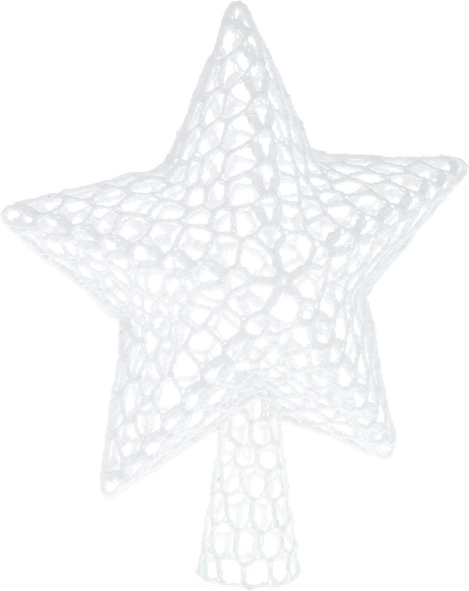 Верхушка на елку Winter Wings Звезда, вязаная, цвет: белый, высота 20 смN180237/БЕЛВерхушка Winter Wings Звезда, выполненная из хлопка, прекрасно подойдет для декора новогодней елки. Изделие создаст особое настроение новогоднего торжества.Верхушка на елку - одно из главных новогодних украшений лесной красавицы. Она принесет в ваш дом ни с чем не сравнимое ощущение праздника!Размеры изделия: 20 х 17 х 5 см.