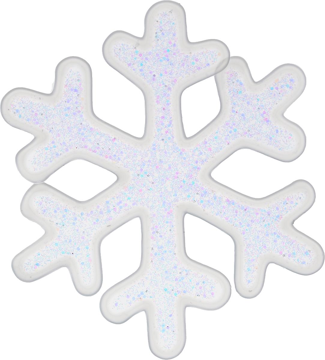 Украшение новогоднее оконное Winter Wings Снежинка, 9 х 9 см