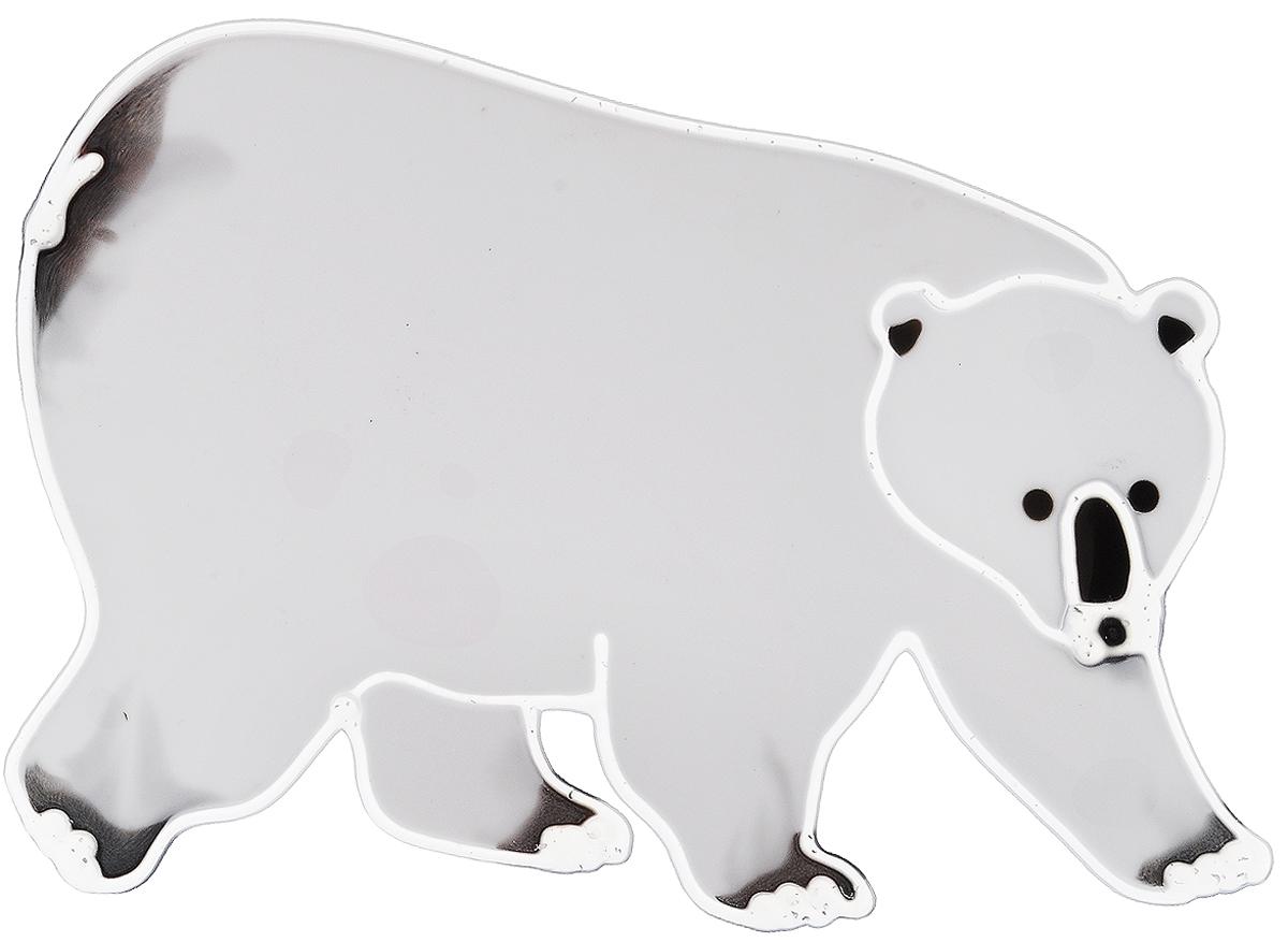 Украшение новогоднее оконное Winter Wings Белый медведь, 18 х 12,5 смN09330Новогоднее оконное украшение Winter Wings Белый медведь поможет украсить дом к предстоящим праздникам. Наклейка изготовлена из ПВХ.С помощью этих украшений вы сможете оживить интерьер по своему вкусу, наклеить их на окно, на зеркало или на дверь.Новогодние украшения всегда несут в себе волшебство и красоту праздника. Создайте в своем доме атмосферу тепла, веселья и радости, украшая его всей семьей. Размер наклейки: 18 х 12,5 см.