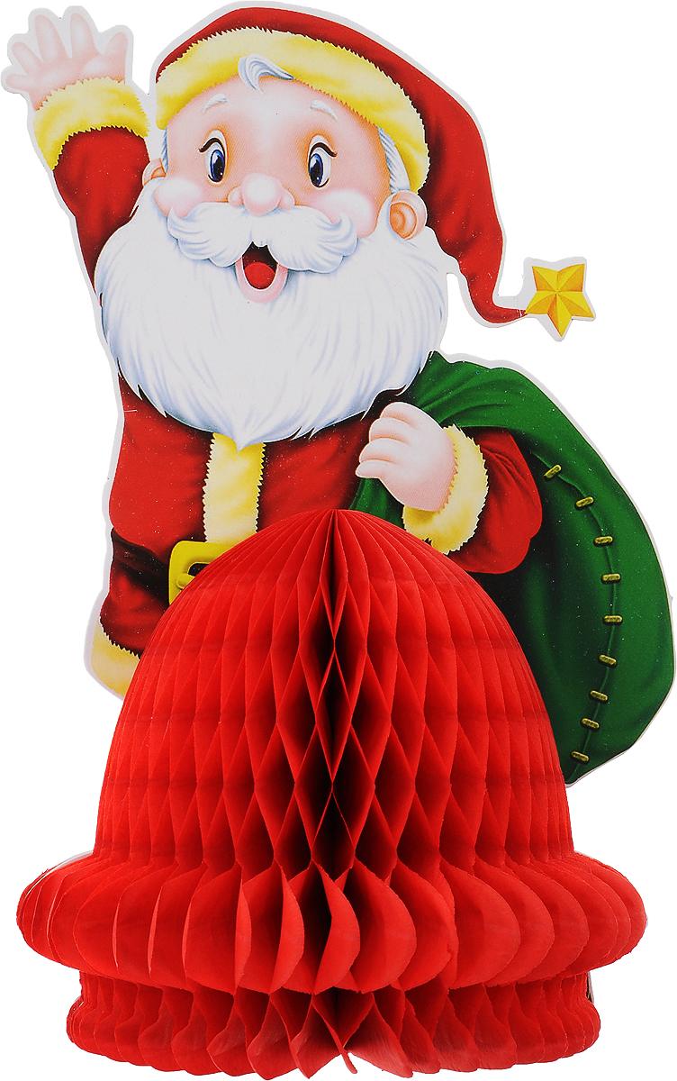 Украшение новогоднее подвесное Winter Wings Дед Мороз, 16 х 25 смN09254Оригинальное новогоднее украшение Winter Wings Дед Мороз выполнено из прочной бумаги. Украшение можно подвесить в любом понравившемся вам месте.Новогодние украшения приносят в дом волшебство и ощущение праздника. Создайте в своем доме атмосферу веселья и радости, украшая его всей семьей.Материал: бумага.Размер: 16 х 25 см.