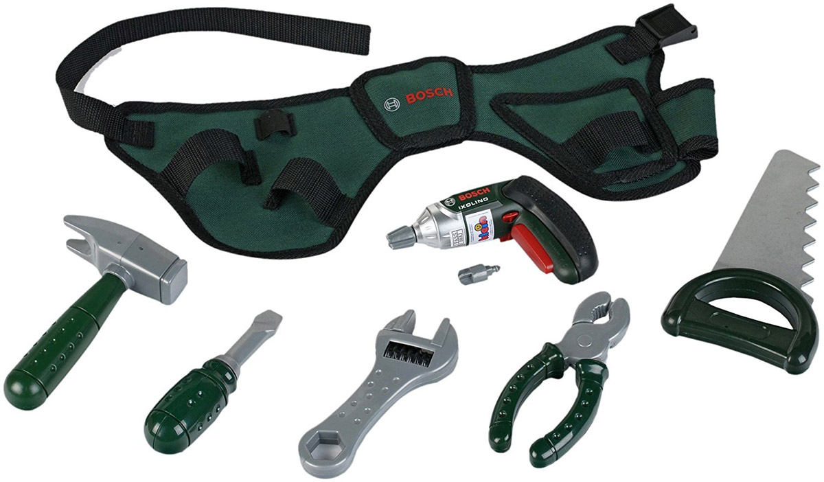 Klein Игрушечный набор инструментов Bosch 8493 набор детских инструментов klein bosch в кейсе