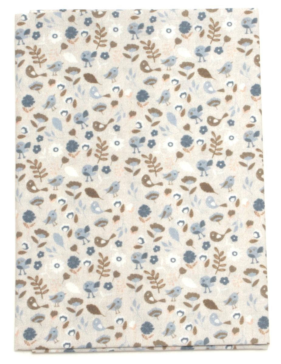 Ткань Кустарь Винтажные птички, 48 х 50 см. AM588004AM588004Ткань Кустарь - это высококачественная ткань из 100% хлопка, которая отлично подходит для пошива покрывал, сумок, панно, одежды, кукол. Также подходит для рукоделия в стиле скрапбукинг и пэчворк.Плотность ткани:120 г/м2. Размер: 48 х 50 см.