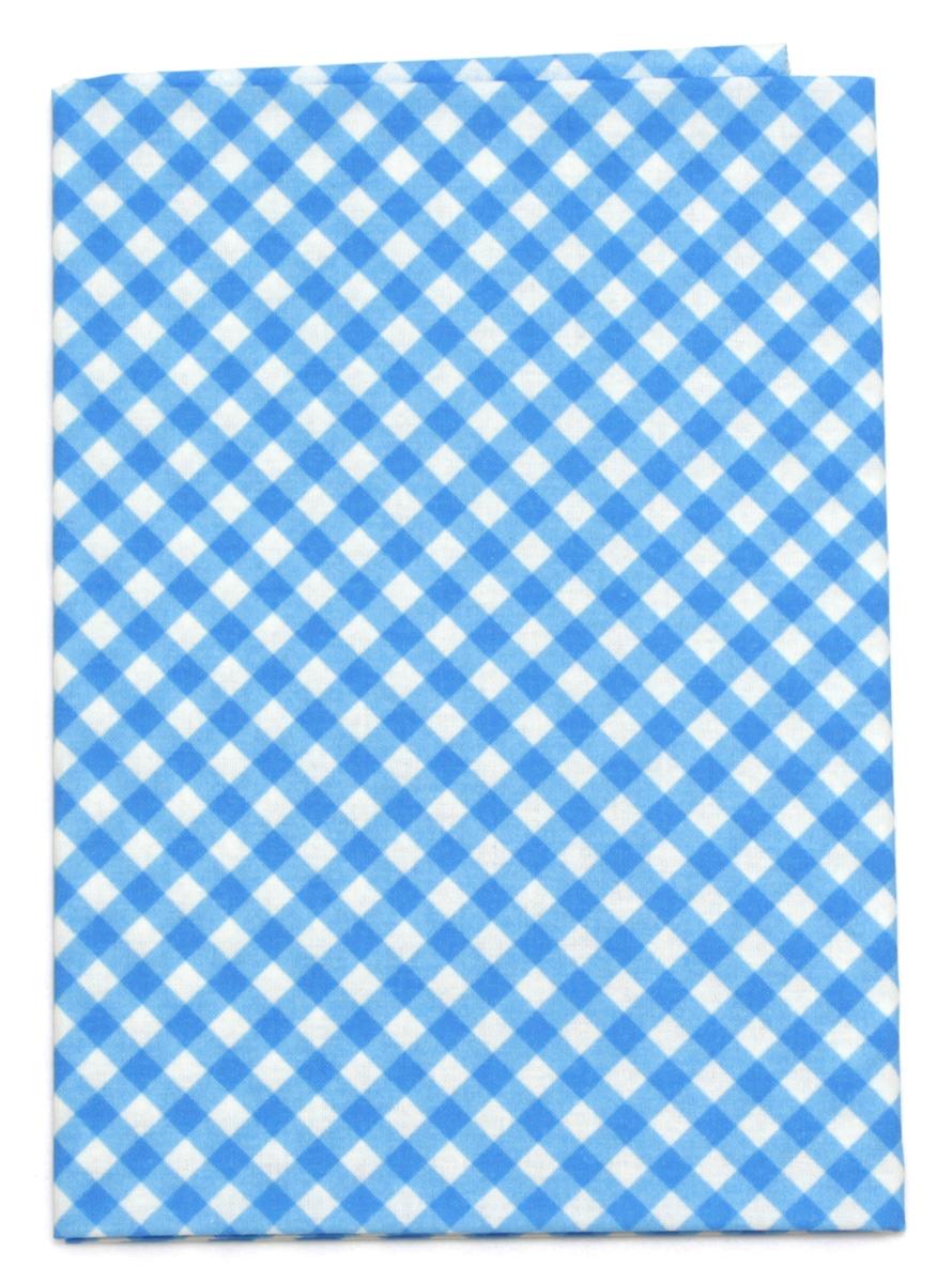 Ткань Кустарь Клетка №18, 48 х 50 см. AM605018AM605018Ткань Кустарь - это высококачественная ткань из 100% хлопка, которая отлично подходит для пошива покрывал, сумок, панно, одежды, кукол. Также подходит для рукоделия в стиле скрапбукинг и пэчворк.Плотность ткани:120 г/м2. Размер: 48 х 50 см.