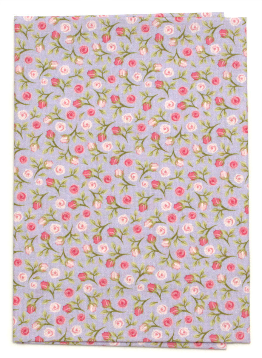 Ткань Кустарь Акварельные розочки №13, 48 х 50 см. AM572013 подвеска кустарь кошка 10 см х 12 см х 0 4 см