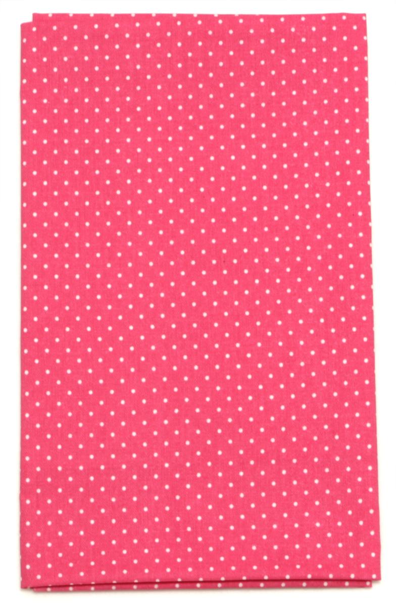 Ткань Кустарь Мелкий горошек, цвет: брусничный, 48 х 50 см. AM555024AM555024Ткань Кустарь - это высококачественная ткань из 100% хлопка, которая отлично подходит для пошива покрывал, сумок, панно, одежды, кукол. Также подходит для рукоделия в стиле скрапбукинг и пэчворк.Плотность ткани:120 г/м2.Размер: 48 х 50 см.