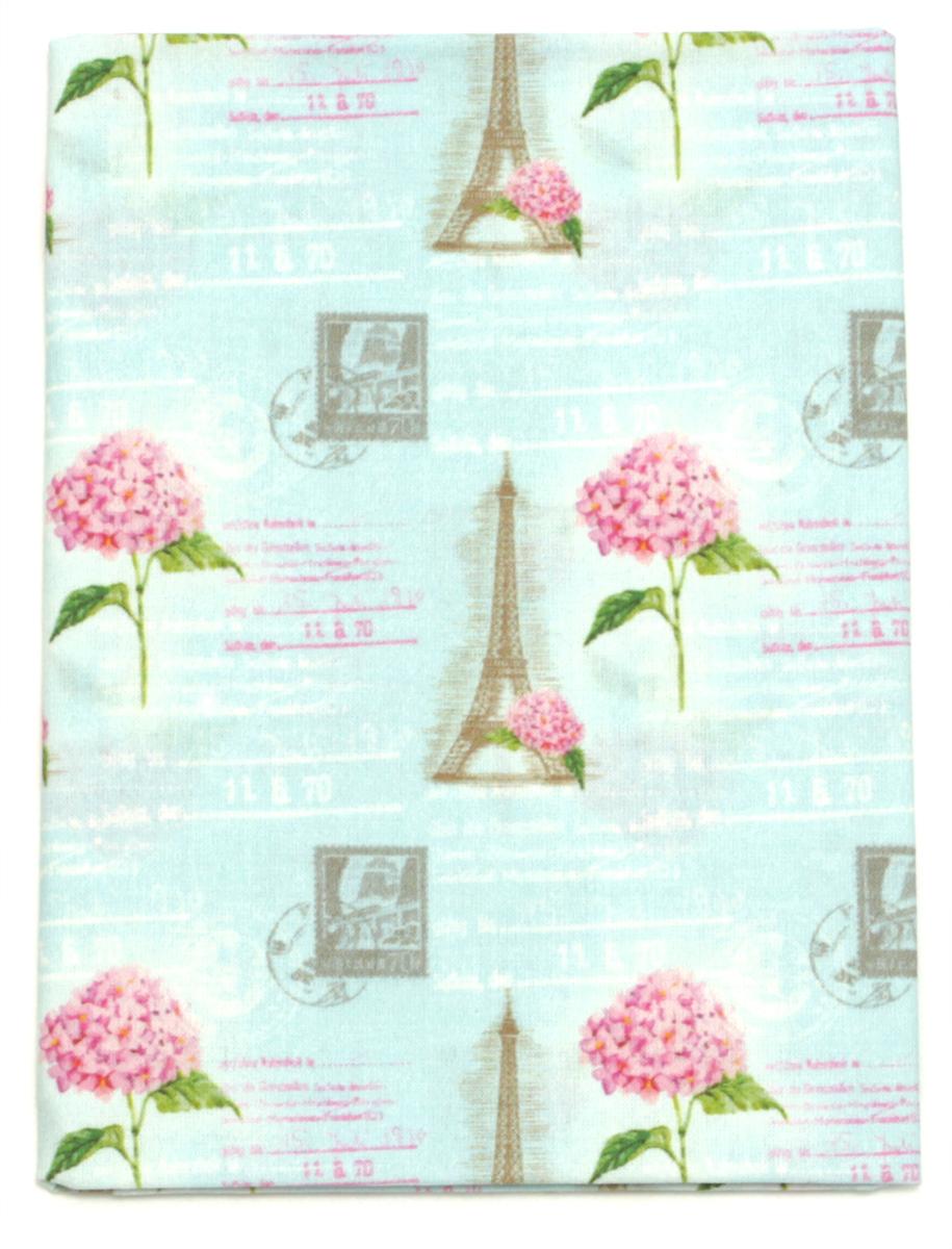 Ткань Кустарь Парижская гортензия №6, 48 х 50 см. AM612006