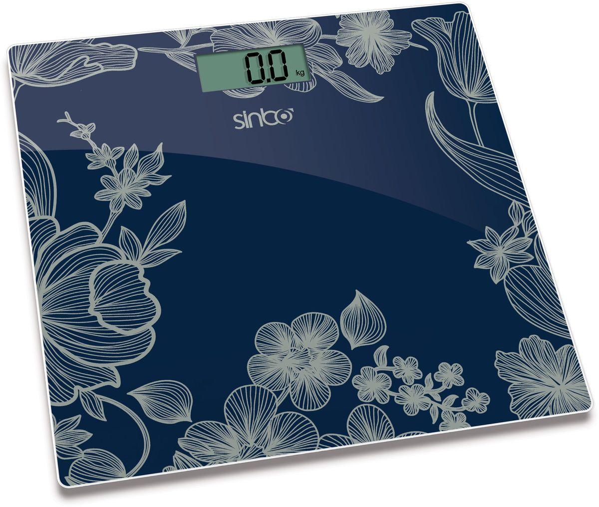 Sinbo SBS 4429, Blue весы напольныеSBS 4429Напольные электронные весы Sinbo SBS 4429. Удобны для ежедневного контроля веса. Обладают высокой точностью измерения веса. Имеют устойчивую и особо прочную стеклянную платформу, что позволяет выдерживать большую нагрузку.