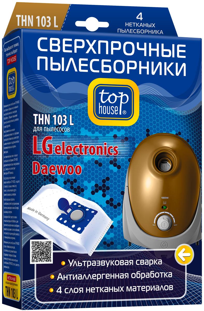 Top House THN 103 L комплект пылесборников 4 шт