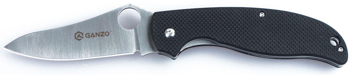 """Складной нож """"Ganzo"""" получил все необходимые качества, чтобы занять высокую рейтинговую позицию в списке практичных туристических моделей. Его клинок сделан из нержавеющей стали и гладко заточен, а на рукоятке накладки из G10 четырех популярных цветов. В открытом положении лезвие удерживается при помощи замка LinerLock.Если вы выбираете нож для поездок на природу: туризма, рыбалки или охоты, пикников или занятий различными видами экстремального спорта,  - то это именно та модель, на которую действительно стоит обратить внимание. Его клинок выполнен из нержавейки высокого качества (440С), которую широко используют многие известные производители. Гладкая заточка способствует многозадачности этой модели. Нож прекрасно подойдет для приготовления бутербродов, чистки рыбы, выполнения различных подсобных работ. Помимо того, у лезвия довольно необычная форма, которая понравится ценителям и коллекционерам ножей. Длина лезвия ножика достигает 89 мм при толщине пластины по обуху 0,33 см.Чтобы нож было удобно держать в руках, на его рукоятке с обеих сторон размещены накладки из популярного стеклопластика G10. Он получил большое распространение благодаря необычайной прочности (это композитный материал), легкости формовки и способности долго сохранять свои свойства. Кстати, стеклопластик комфортно держать в руках и зимой, и летом, в отличие от некоторых других материалов, на которые существенно влияет температура окружающей среды. В хвосте рукоятки сделано небольшое отверстие для темляка.Данный нож - это складная модель, а потому для него предусмотрен специальный ножевой замок, который не дает клинку самостоятельно открываться или закрываться. В данном случае речь идет о механизме LinerLock, который считается самым простым и, вместе с тем, одним из наиболее надежных.Длина лезвия: 8,9 см.Общая длина ножа: 21 см.Толщина лезвия: 0,33 см.Твердость стали: +-58HRC.Вес ножа: 130 г."""