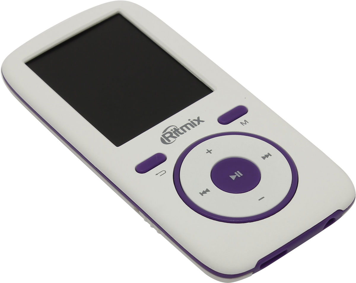 Ritmix RF-4450 4GB, White Violet MP3-плеер