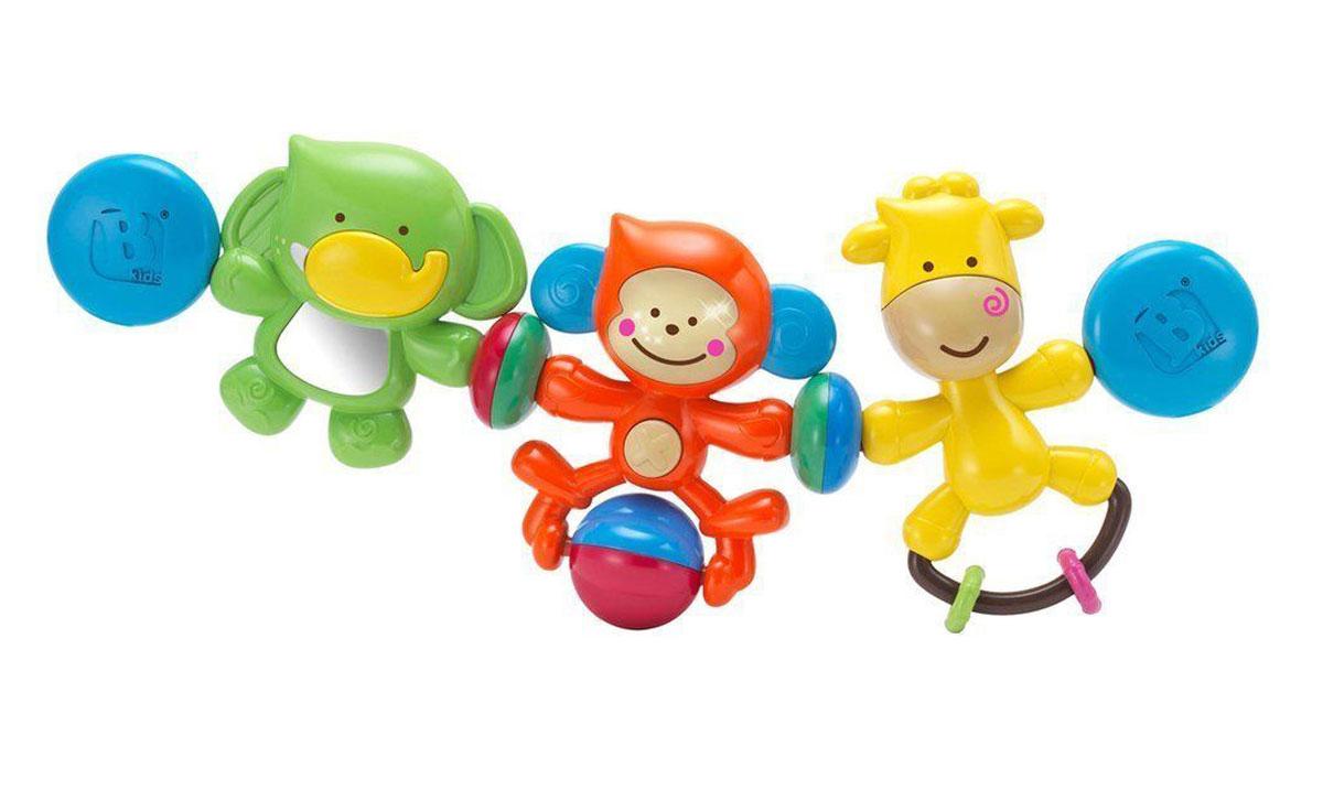 B kids Игрушка-подвеска Веселые друзья подвесные игрушки мир детства мини подвеска слоненок
