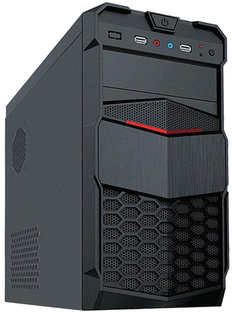 3Cott Avenger компьютерный корпус (3C-MATX-PU1B)3C-MATX-PU1B AvengerКорпус 3Cott Avenger – корпус для сборки игровых систем начального уровня. Черная передняя панель украшена декоративными решетками-сотами.Кнопка включения, два дополнительных USB 2.0 порта и аудиовыходы располагаются в верхней части передней панели. Блок питания мощностью 500 Вт позволяет использовать требовательные к питанию комплектующие, а продуманная система циркуляции воздуха с возможностью установки дополнительных вентиляторов обеспечит стабильное охлаждение комплектующих.Кабели и разъемы блока питания:Основной разъем питания 20+4 pin Разъемы для питания процессора (CPU) 1x 4 pin Разъемы для питания видеокарты (PCI-E) 1x 6 pin Количество разъемов 15-pin SATA 3 Количество разъемов 4-pin Molex 4 Количество разъемов 4-pin Floppy 1