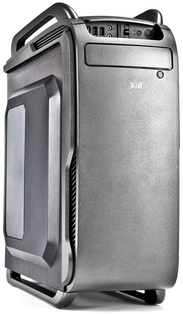 3Cott Collesseum, Grey компьютерный корпус (3C-ATX666GR)3C-ATX666GRКорпус 3Cott Collesseum из серии Game Pro - отличный выбор для сборки игрового компьютера на основе самых высокопроизводительных комплектующих.Мощный блок питания на 800 Вт с защитой от сбоев напряжения и пылесборной сеткой располагается в нижней части корпуса, что освобождает место для плат расширения. Мощность блока питания, в сочетании с продуманной системой отвода тепла с возможностью установки до 7 вентиляторов, обеспечит идеальные условия для работы самых требовательных к мощности и температуре в корпусе систем. Корпус также оснащен HDD/SSD лотком из ударопрочного пластика. Имеется возможность скрытой установки кабелей (Cable Management).