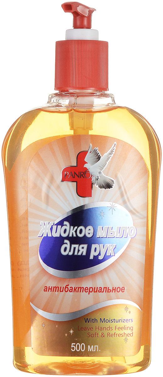 Жидкое мыло Panrosa Антибактериальное 500мл377Антибактериальное жидкое мыло Panrosa борется со всеми видами бактерий и благодаря своей нежной формуле подходит даже для самой чувствительной кожи. Кроме того, мыло насыщенно натуральными экстрактами, которые делают кожу рук мягкими и гладкими.