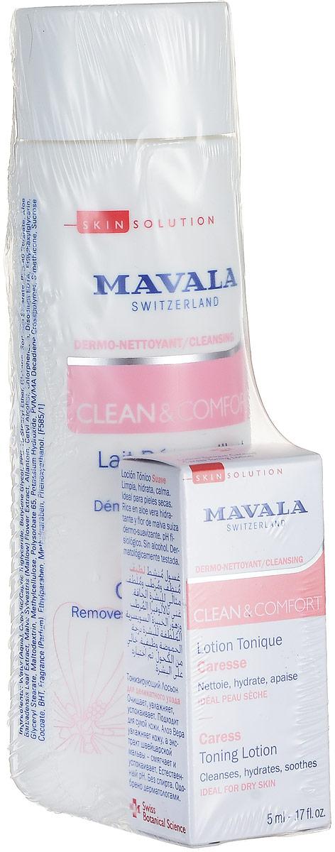 Mavala Очищающее Молочко для деликатного ухода Clean & Comfort Careless Cleansing Milk 200 мл07-403Использование неподходящих очищающих средств может привести к сухости и раздражению кожи, а также к разрушению ее естественного защитного барьера. Очищающее Молочко для деликатного ухода швейцарского бренда Mavala подходит для сухой кожи. бережно удаляет макияж, не повреждая естественный защитный барьер эпидермиса. Молочко изготовлено на основе Минеральной воды из высокогорного источника в швейцарских Альпах. Экстракт цветов Мальвы обеспечивает коже мягкость, а Алоэ вера увлажняет и защищает. Молочко обладает деликатной бархатной текстурой. При нанесении мгновенно избавляет от ощущения стянутости, жжения и дискомфорта. В его состав входят только гипоаллергенные экологически чистые компоненты. Без запаха, мыла и парабенов. Средство создано и протестировано в собственной исследовательской лаборатории Mavala в Женеве (Швейцария).