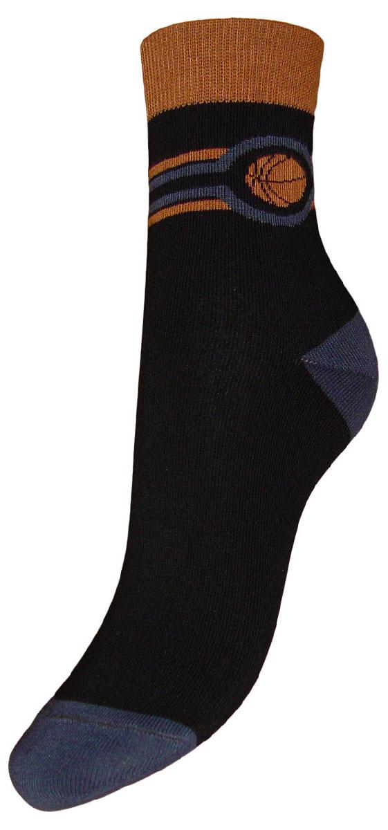 Носки детские Гранд, цвет: черный, 2 пары. TCL7. Размер 22/24TCL7Детские подростковые носки выполнены из высококачественного хлопка. Носки изготовлены по европейским стандартам из самой лучшей гребенной пряжи, имеют рисунок баскетбольный мяч на паголенке, после стирки не меняют цвет, усилены пятка и мысок для повышенной износостойкости, функция отвода влаги позволяет сохранить ноги сухими, благодаря свойствам эластана, не теряют первоначальный вид. Носки долгое время сохраняют форму и цвет, а так же обладают антибактериальными и терморегулирующими свойствами.