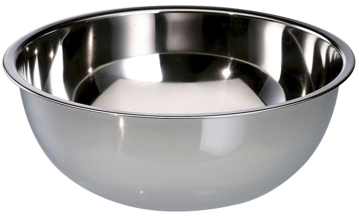 Миска Axentia, диаметр 32 см116660Миска Axentia изготовлена из нержавеющей толстолистовой стали. Удобная посуда прекрасно подойдет для походов и пикников. Прочная, компактная миска легко моется. Отлично подойдет для горячих блюд.Диаметр миски: 32 см.Объем: 7 л.