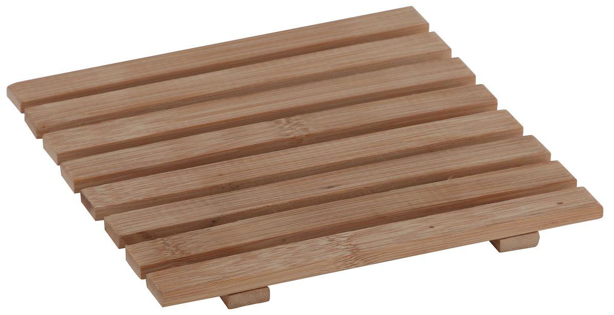 Подставка под горячее Axentia, 17 х 17 см124569Квадратная подставка под горячее Axentia, выполненная из бамбука, идеально впишется в интерьер современной кухни.Каждая хозяйка знает, что подставка под горячее - это незаменимый и очень полезный аксессуар на каждой кухне. Ваш стол будет не только украшен оригинальной подставкой, но и сбережен от воздействия высоких температур ваших кулинарных шедевров.
