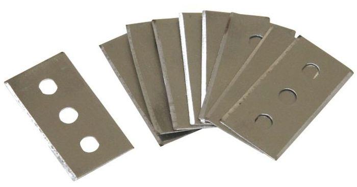 Запасные лезвия Axentia, для скребка, 10 шт. 200671200671Запасные лезвия Axentia созданы специально для скребка для очистки стеклокерамических плит и стеклянных поверхностей. В наборе: 10 штук.