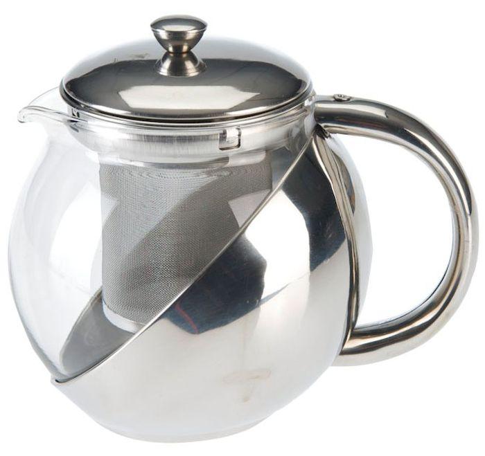Чайник заварочный Axentia, с фильтром, 750 мл223510Заварочный чайник Axentia, изготовленный из термостойкого стекла,предоставит вам все необходимые возможности для успешного заваривания чая.Чай в таком чайнике дольше остается горячим, а полезные и ароматическиевещества полностью сохраняются в напитке. Чайник оснащен фильтром, выполненном из нержавеющей стали. Простой и удобный чайник поможет вам приготовить крепкий, ароматный чай.Нельзя мыть в посудомоечной машине. Не использовать в микроволновой печи.Диаметр чайника (по верхнему краю): 11 см.Высота чайника (без учета крышки): 15,5 см.