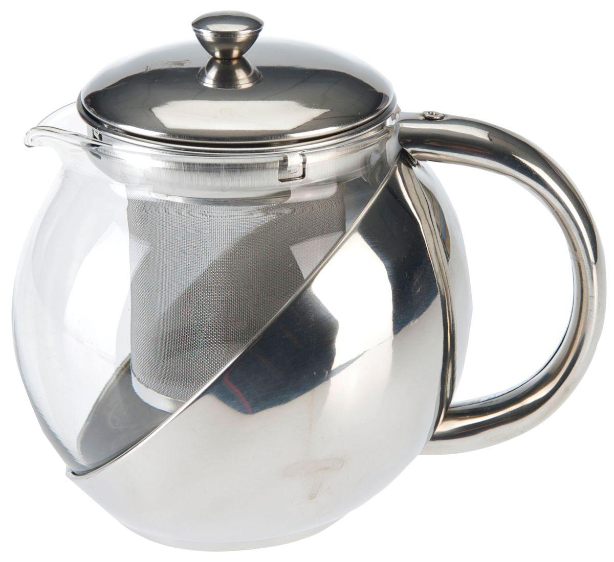 Чайник заварочный Axentia, с фильтром, 1,2 л223514Заварочный чайник Axentia, изготовленный из термостойкого стекла,предоставит вам все необходимые возможности для успешного заваривания чая.Чай в таком чайнике дольше остается горячим, а полезные и ароматическиевещества полностью сохраняются в напитке. Чайник оснащен фильтром, выполненном из нержавеющей стали. Простой и удобный чайник поможет вам приготовить крепкий, ароматный чай.Нельзя мыть в посудомоечной машине. Не использовать в микроволновой печи.Диаметр чайника (по верхнему краю): 13 см.Высота чайника (без учета крышки): 15,5 см.