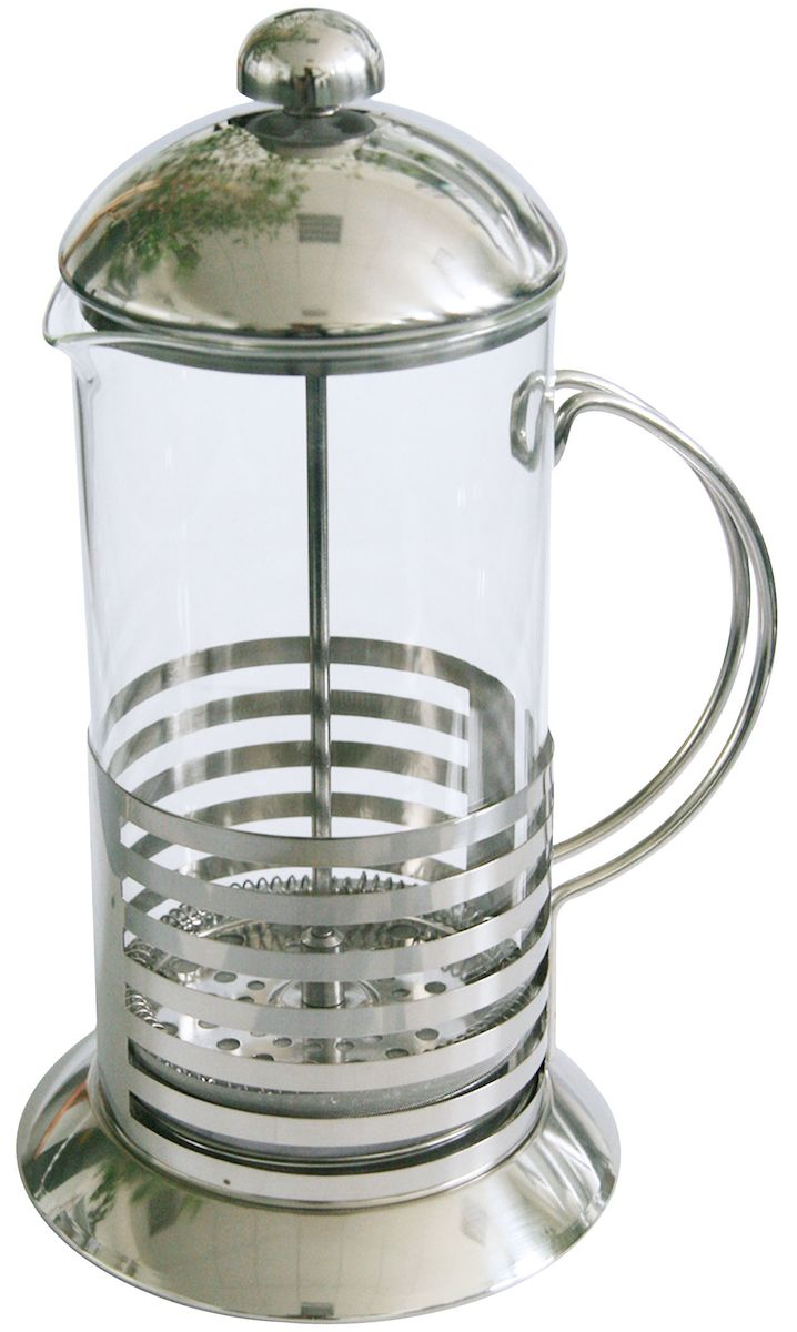 Френч-пресс Axentia Tebino, 600 мл223557Френч-пресс Axentia Tebino, выполненный из стекла и нержавеющей стали, практичный и простой в использовании. Засыпая чайную заварку под фильтр и заливая ее горячей водой, вы получаете ароматный чай с оптимальной крепостью и насыщенностью. Остановить процесс заварки чая легко. Для этого нужно просто опустить поршень, и заварка уйдет вниз, оставляя вверху напиток, готовый к употреблению. Современный дизайн полностью соответствует последним модным тенденциям в создании предметов бытовой техники.