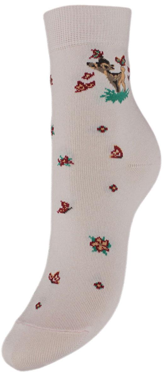 Носки детские Гранд, цвет: розовый, 2 пары. YCL10. Размер 18/20YCL10Детские носки выполнены из высококачественного хлопка. Носки с текстурным рисунком на паголенке олененок изготовлены по европейским стандартам из самой лучшей гребенной пряжи, хорошо держат форму и обладают повышенной воздухопроницаемостью, имеют безупречный внешний вид, после стирки не меняют цвет, усилены пятка и мысок для повышенной износостойкости, функция отвода влаги позволяет сохранить ноги сухими, благодаря свойствам эластана, не теряют первоначальный вид. Носки долгое время сохраняют форму и цвет, а так же обладают антибактериальными и терморегулирующими свойствами.