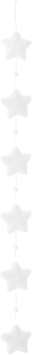 Гирлянда новогодняя Winter Wings Бусы. Звездочки, длина 1,3 мN180137Новогодняя гирлянда Winter Wings Бусы. Звездочки прекрасно подойдет для декора дома. Украшение выполнено из полимерного материала. С помощью специальной петельки гирлянду можно повесить в любом понравившемся вам месте. Новогодние украшения несут в себе волшебство и красоту праздника. Они помогут вам украсить дом к предстоящим праздникам и оживить интерьер по вашему вкусу. Создайте в доме атмосферу тепла, веселья и радости, украшая его всей семьей.
