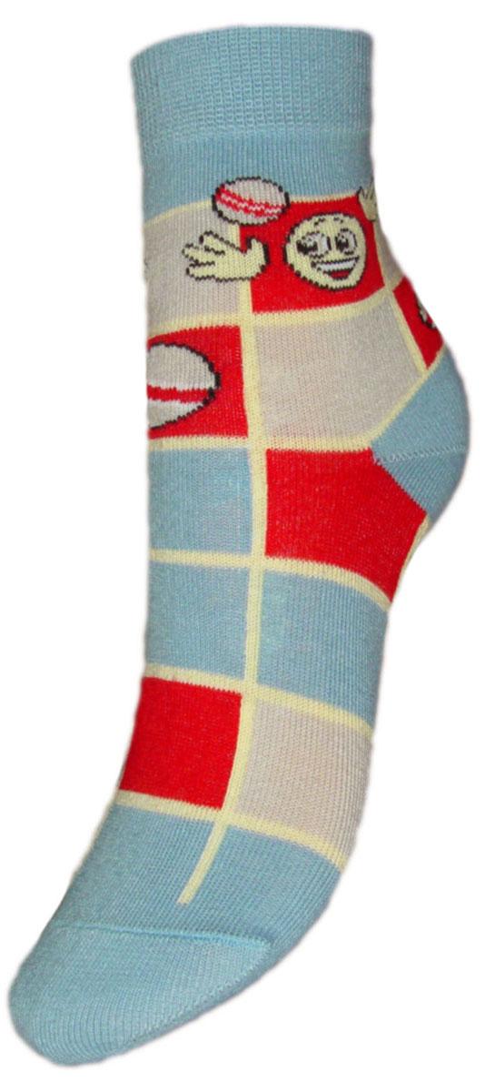 Носки детские Гранд, цвет: голубой, 2 пары. YCL35. Размер 18/20YCL35Детские носки выполнены из высококачественного хлопка. Носки с текстурным рисунком квадраты хорошо держат форму и обладают повышенной воздухопроницаемостью, имеют безупречный внешний вид, после стирки не меняют цвет, усиленные пятка и мысок для повышенной износостойкости. Носки долгое время сохраняют форму и цвет, а так же обладают антибактериальными и терморегулирующими свойствами.