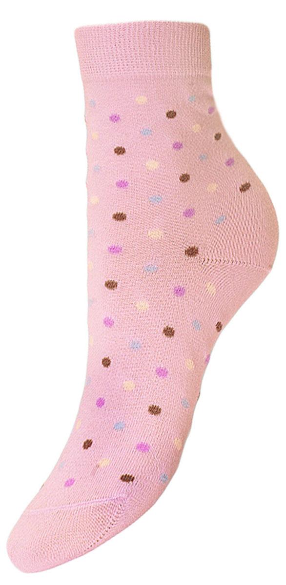 Носки детские Гранд, цвет: розовый, 2 пары. YCL38. Размер 12/14YCL38Детские носки выполнены из высококачественного хлопка, предназначены для повседневной носки. Носки с текстурным рисунком разноцветные точки хорошо держат форму и обладают повышенной воздухопроницаемостью, имеют безупречный внешний вид, после стирки не меняют цвет, усилены пятка и мысок. За счет добавленной лайкры в пряжу, повышена эластичность и срок службы изделия.Носки долгое время сохраняют форму и цвет, а так же обладают антибактериальными и терморегулирующими свойствами.