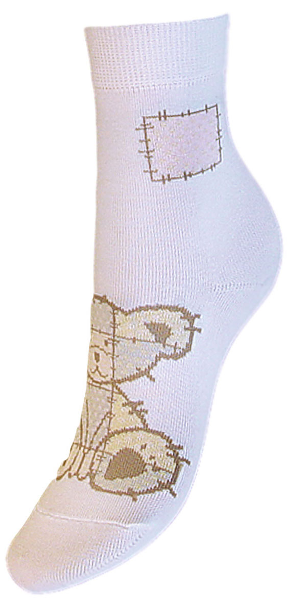Носки детские Гранд, цвет: белый, 2 пары. YCL41. Размер 12/14YCL41Яркие детские носки Гранд, изготовленные из высококачественного хлопка с добавлением полиамида и эластана, обеспечат тепло ногам и великолепную посадку. Носки оформлены оригинальным принтом. Удобная резинка идеально облегает ногу и не пережимает сосуды, удлиненный паголенок придает более эстетичный вид. Мыс и носок усилены. В комплект входят две пары носков.
