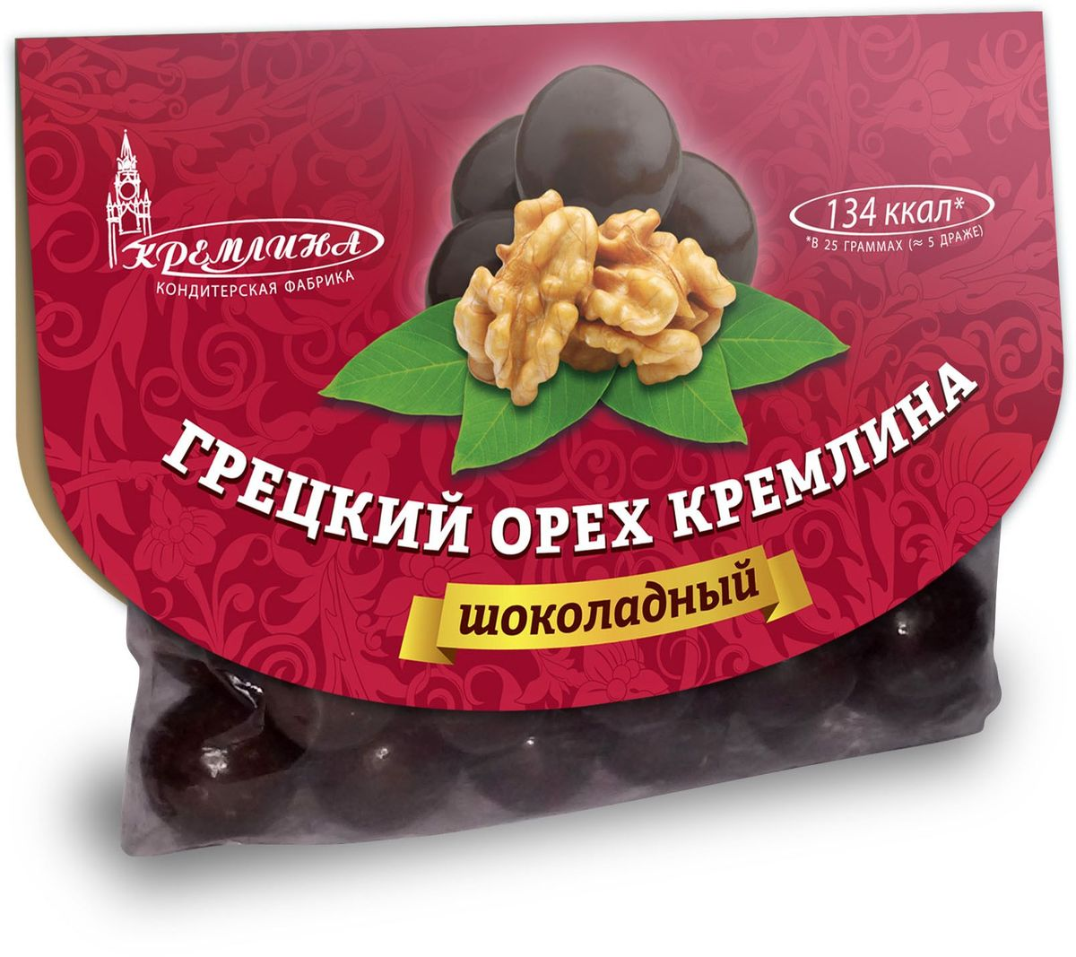 Кремлина Грецкий орех в шоколаде, 135 г арахис farm production for 500g