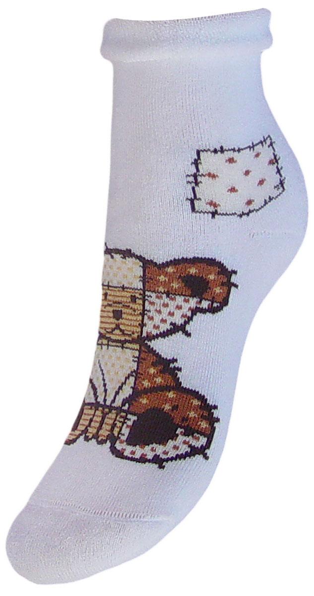 Носки детские Гранд, цвет: белый, 2 пары. YCL41M. Размер 18/20YCL41MДетские зимние носки выполнены из высококачественного хлопка. Махра отлично сохраняет тепло. Носки с текстурным рисунком плюшевый мишка хорошо держат форму и обладают повышенной воздухопроницаемостью, имеют безупречный внешний вид, после стирки не меняют цвет, усилены пятка и мысок. За счет добавленной лайкры в пряжу, повышена эластичность и срок службы изделия.Носки долгое время сохраняют форму и цвет, а так же обладают антибактериальными и терморегулирующими свойствами.