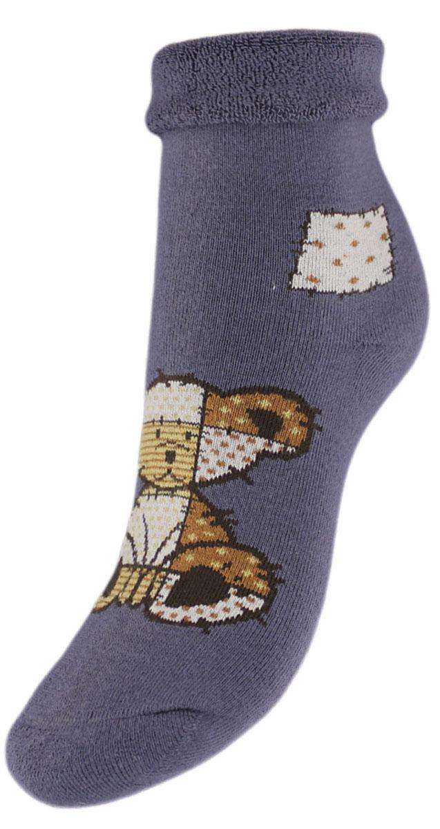 Носки детские Гранд, цвет: серый, 2 пары. YCL41M. Размер 22/24
