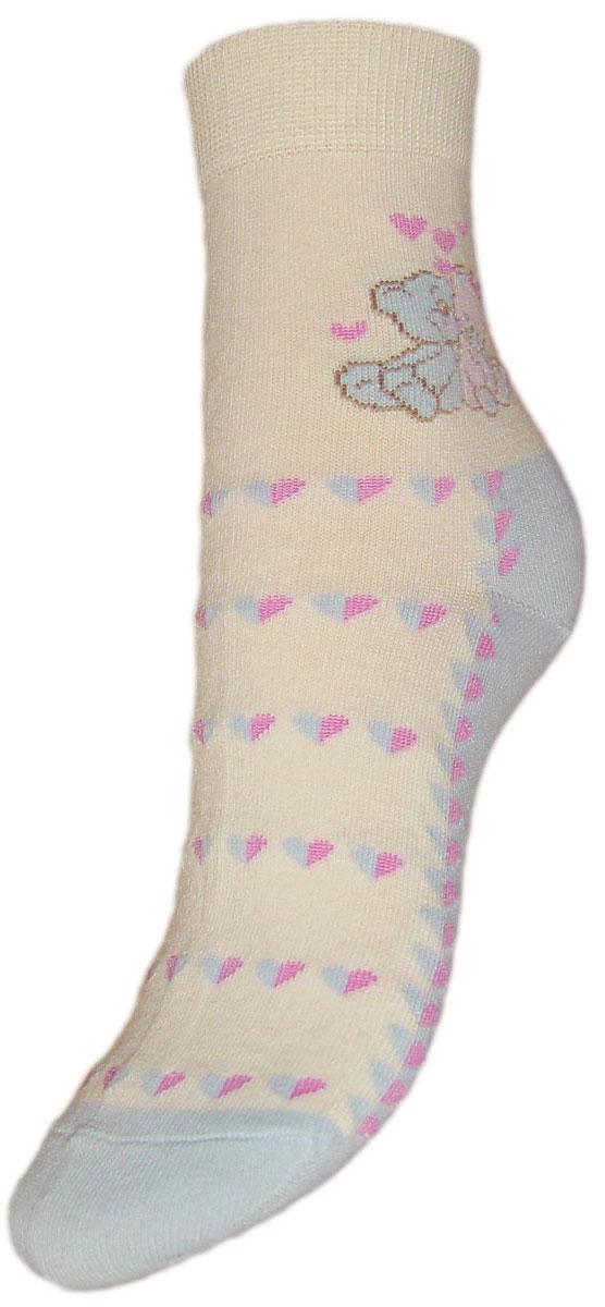 Носки детские Гранд, цвет: голубой, 2 пары. YCL44. Размер 20/22YCL44Детские носки выполнены из высококачественного хлопка, предназначены для повседневной носки. Носки имеют классический паголенок с текстурным рисунком два мишки, бесшовную технологию зашивки мыска (кеттельный шов), безупречный внешний вид, хорошо держат форму и обладают повышенной воздухопроницаемостью, после стирки не меняют цвет, усилены пятка и мысок. За счет добавленной лайкры в пряжу, повышена эластичность и срок службы изделия.Носки долгое время сохраняют форму и цвет, а так же обладают антибактериальными и терморегулирующими свойствами.