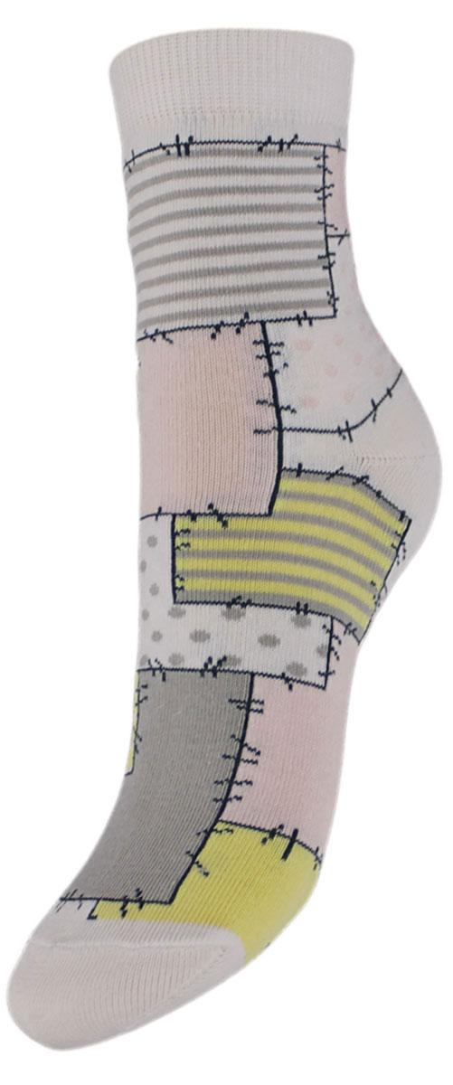 Носки детские Гранд, цвет: белый, 2 пары. YCL48. Размер 12/14YCL48Детские носки выполнены из высококачественного хлопка. Носки с текстурным рисунком по всему носку заплатки хорошо держат форму и обладают повышенной воздухопроницаемостью, имеют безупречный внешний вид, после стирки не меняют цвет, усилены пятка и мысок. За счет добавления лайкры в пряжу, повышена эластичность и срок службы изделия.Носки произведены по европейским стандартам на современный вязальных автоматах.
